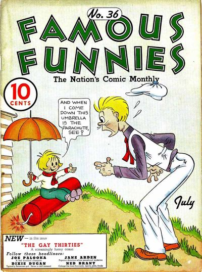 Cover for Famous Funnies (Eastern Color, 1934 series) #36