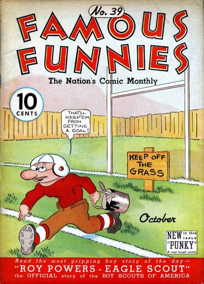 Cover for Famous Funnies (1934 series) #39