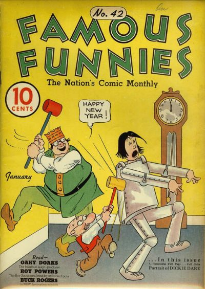 Cover for Famous Funnies (1934 series) #42