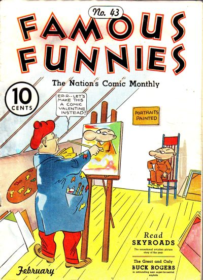 Cover for Famous Funnies (1934 series) #43