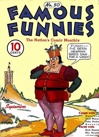 Cover for Famous Funnies (1934 series) #50