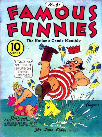 Cover for Famous Funnies (1934 series) #61