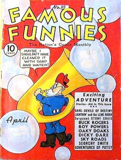 Cover for Famous Funnies (Eastern Color, 1934 series) #69
