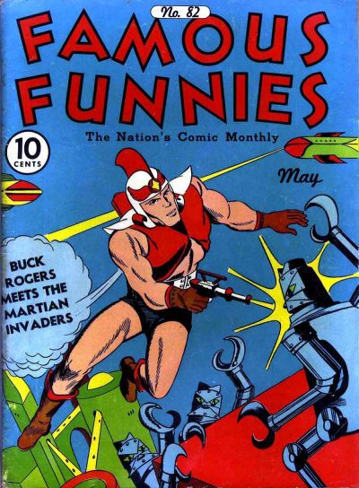 Cover for Famous Funnies (1934 series) #82