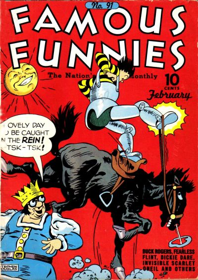 Cover for Famous Funnies (1934 series) #91