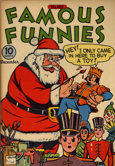 Cover for Famous Funnies (Eastern Color, 1934 series) #101