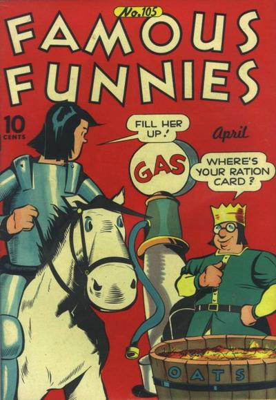 Cover for Famous Funnies (Eastern Color, 1934 series) #105