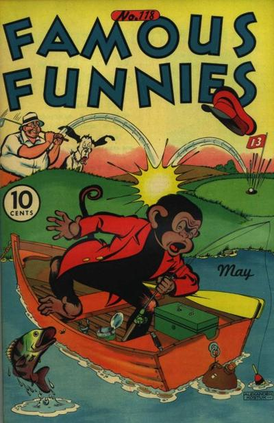 Cover for Famous Funnies (1934 series) #118