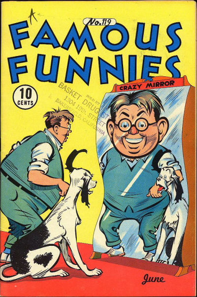 Cover for Famous Funnies (1934 series) #119