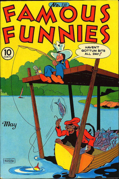 Cover for Famous Funnies (Eastern Color, 1934 series) #130