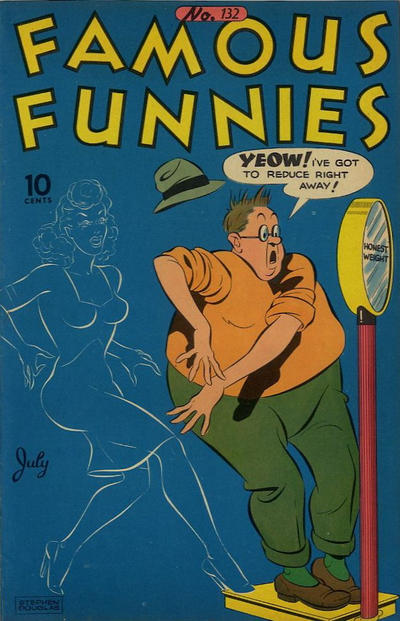 Cover for Famous Funnies (Eastern Color, 1934 series) #132