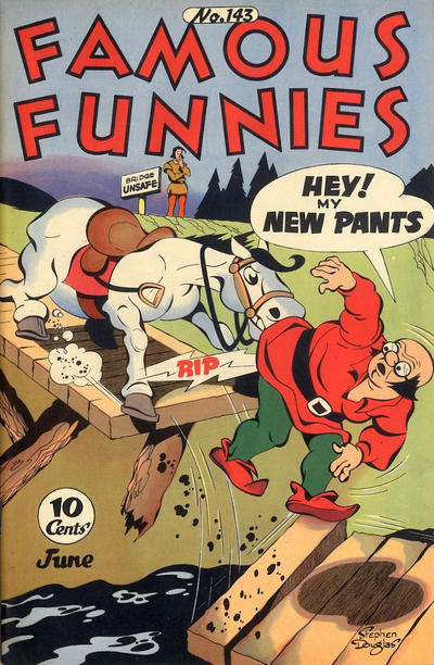 Cover for Famous Funnies (1934 series) #143