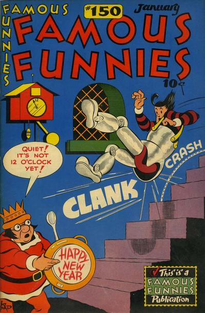 Cover for Famous Funnies (Eastern Color, 1934 series) #150