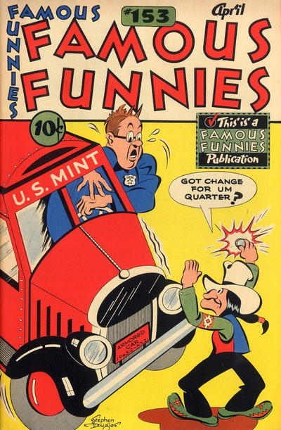 Cover for Famous Funnies (1934 series) #153