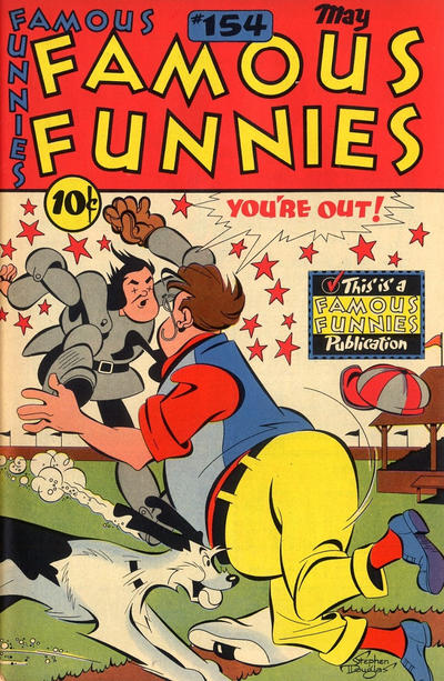 Cover for Famous Funnies (Eastern Color, 1934 series) #154