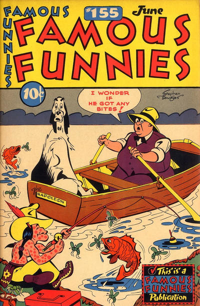Cover for Famous Funnies (1934 series) #155