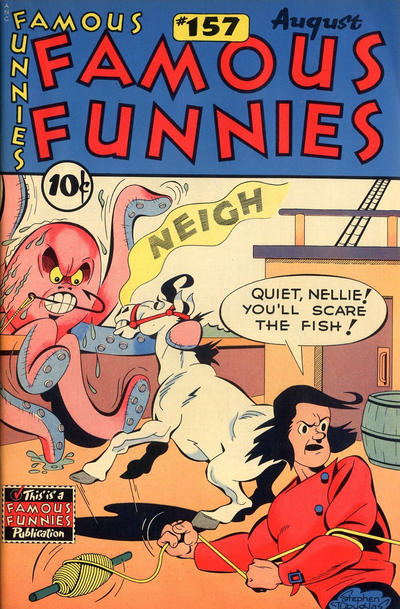 Cover for Famous Funnies (Eastern Color, 1934 series) #157