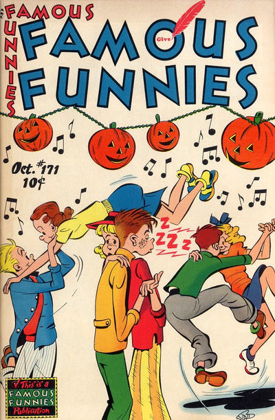 Cover for Famous Funnies (Eastern Color, 1934 series) #171