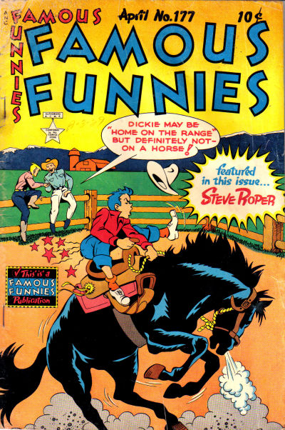 Cover for Famous Funnies (1934 series) #177