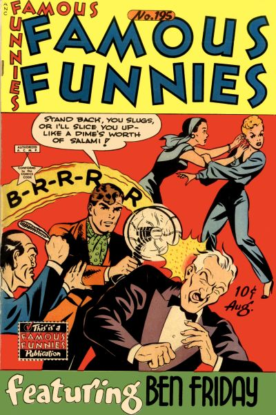 Cover for Famous Funnies (Eastern Color, 1934 series) #195