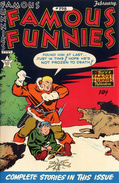 Cover for Famous Funnies (1934 series) #198