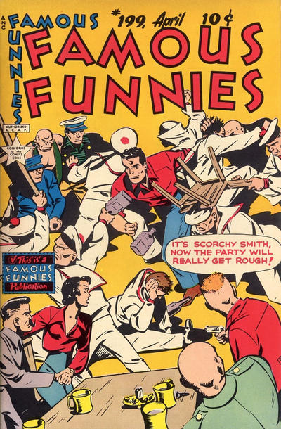 Cover for Famous Funnies (1934 series) #199