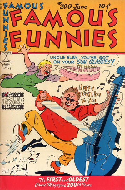 Cover for Famous Funnies (Eastern Color, 1934 series) #200