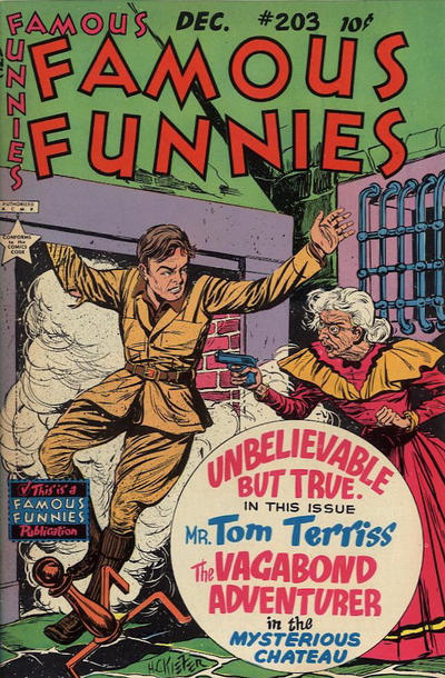 Cover for Famous Funnies (1934 series) #203