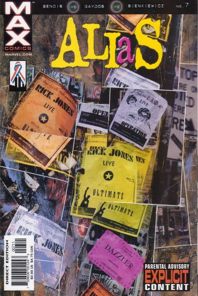 Cover for Alias (2001 series) #7