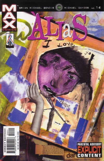 Cover for Alias (Marvel, 2001 series) #14
