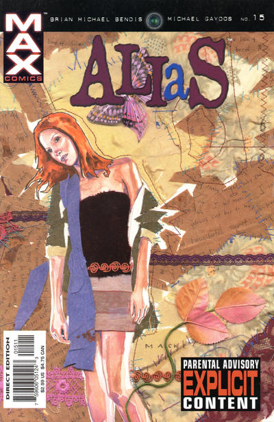 Cover for Alias (Marvel, 2001 series) #15