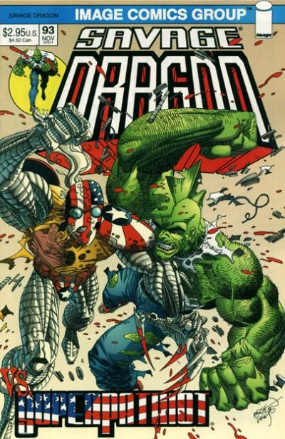 Cover for Savage Dragon (Image, 1993 series) #93