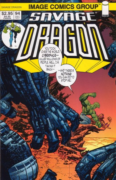 Cover for Savage Dragon (Image, 1993 series) #94