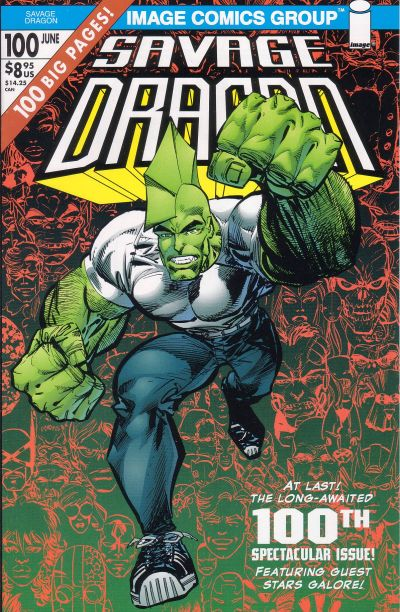 Cover for Savage Dragon (Image, 1993 series) #100