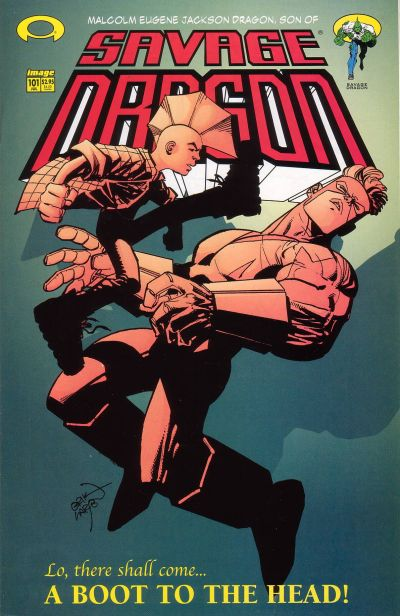 Cover for Savage Dragon (Image, 1993 series) #101