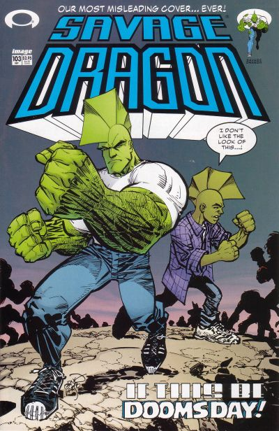Cover for Savage Dragon (Image, 1993 series) #103