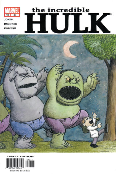 Cover for Incredible Hulk (Marvel, 2000 series) #49