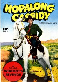 Cover Thumbnail for Hopalong Cassidy (Fawcett, 1946 series) #16