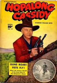 Cover Thumbnail for Hopalong Cassidy (Fawcett, 1946 series) #17