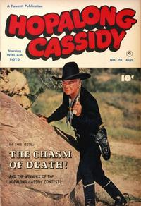 Cover Thumbnail for Hopalong Cassidy (Fawcett, 1946 series) #70
