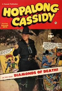 Cover Thumbnail for Hopalong Cassidy (Fawcett, 1946 series) #73
