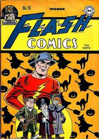 Cover Thumbnail for Flash Comics (DC, 1940 series) #78