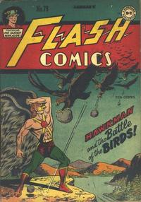Cover Thumbnail for Flash Comics (DC, 1940 series) #79