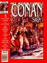 Cover Thumbnail for Conan Saga (Marvel, 1987 series) #1