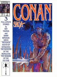Cover Thumbnail for Conan Saga (Marvel, 1987 series) #7