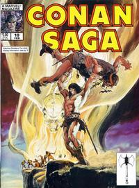 Cover Thumbnail for Conan Saga (Marvel, 1987 series) #10