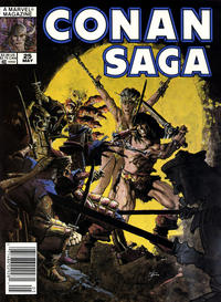 Cover Thumbnail for Conan Saga (Marvel, 1987 series) #25