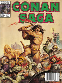 Cover Thumbnail for Conan Saga (Marvel, 1987 series) #27
