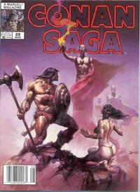 Cover Thumbnail for Conan Saga (Marvel, 1987 series) #28