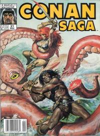 Cover Thumbnail for Conan Saga (Marvel, 1987 series) #31